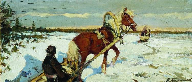 Пейзажи художника зимний пейзаж на