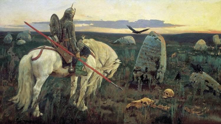 богатыри в русской живописи: